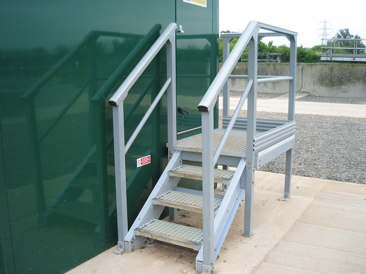 GRP Structural Stairs
